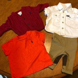 Ralph Lauren 3m baby boy lot outfits